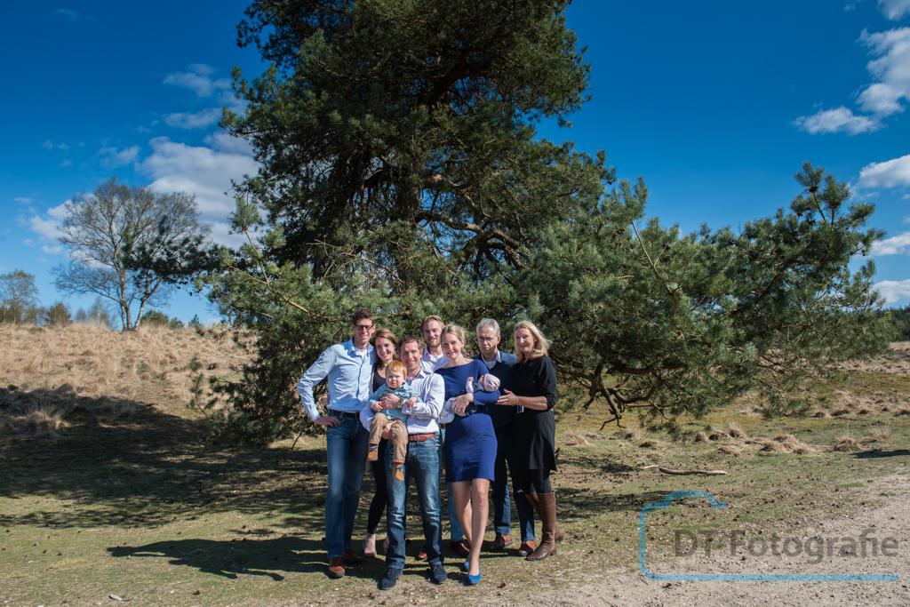 Familie fotoshoot in Apeldoorn op lokatie