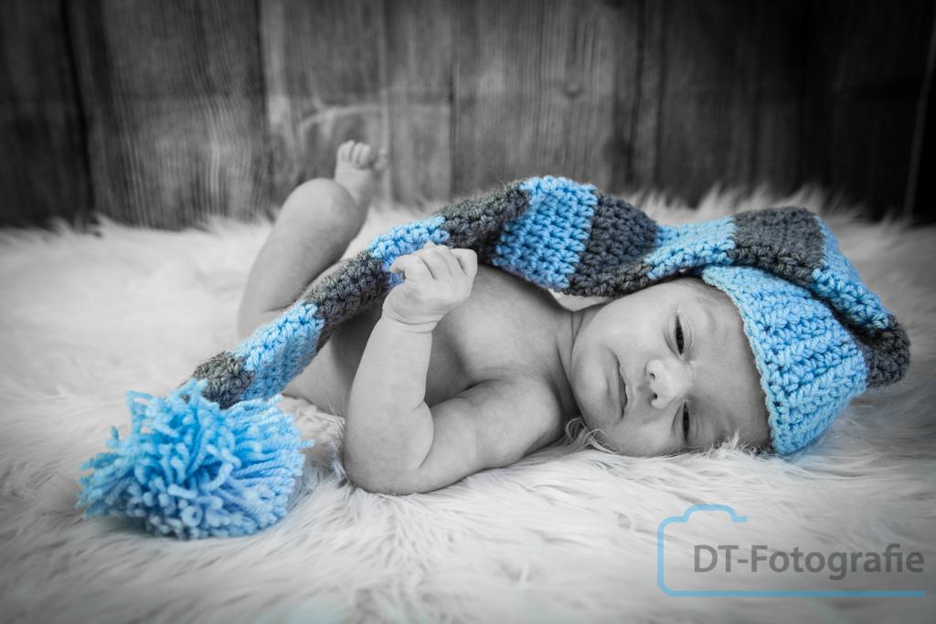 Newborn fotoshoot Emanuel